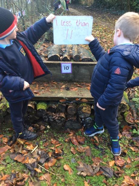 P1 Outdoor learning